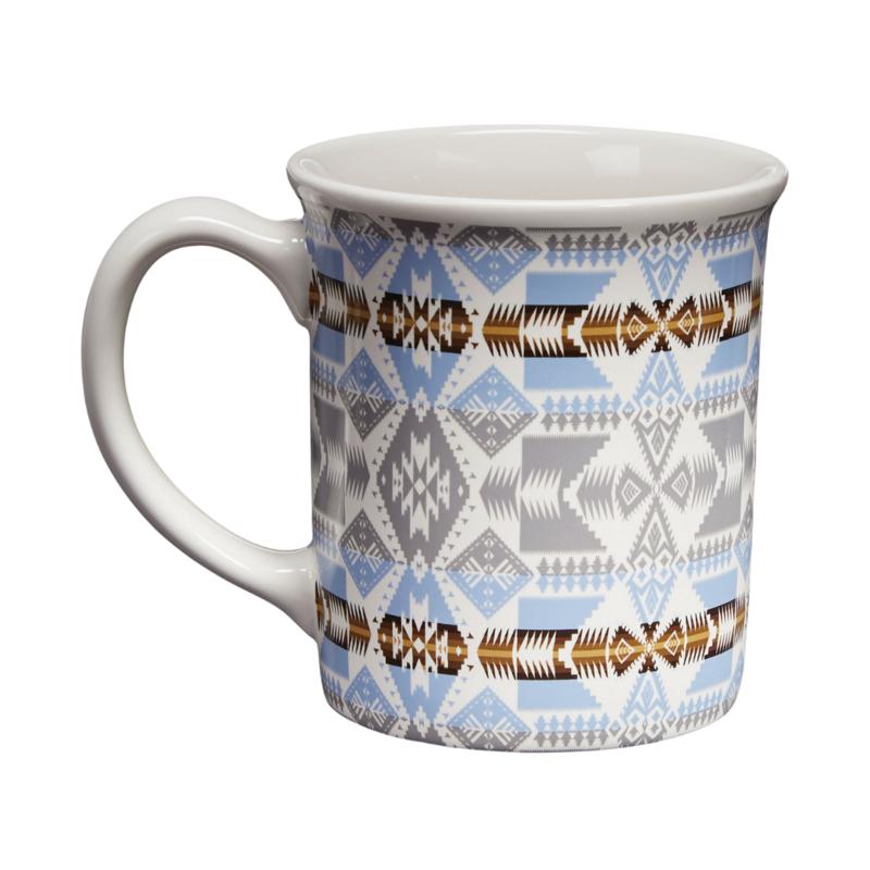 Pendleton 18 oz Ceramic Mug   Silver Bark
