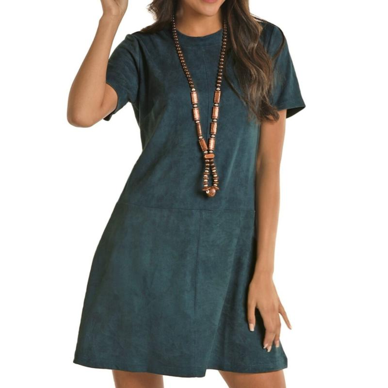 Rock & Roll | Microsuede Dress