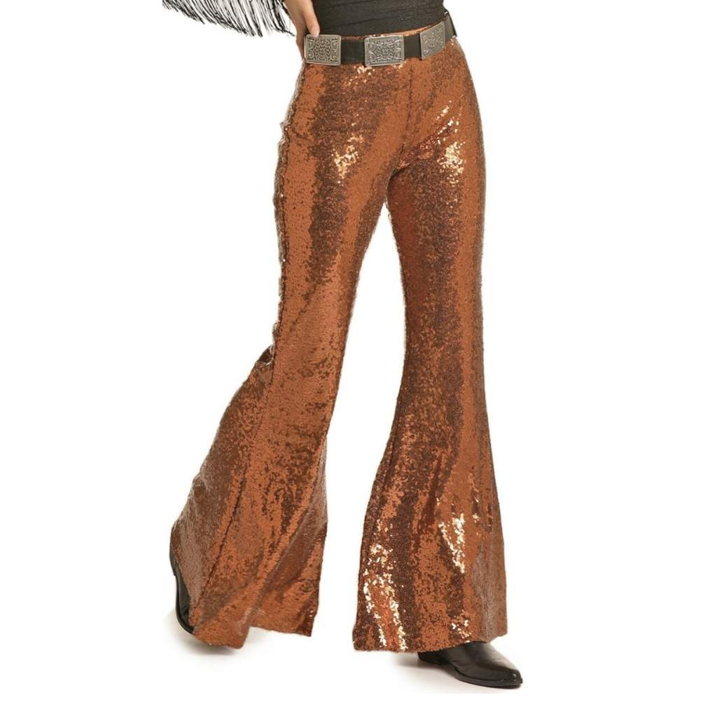 Rock and Roll | Sequin Bell Bottoms