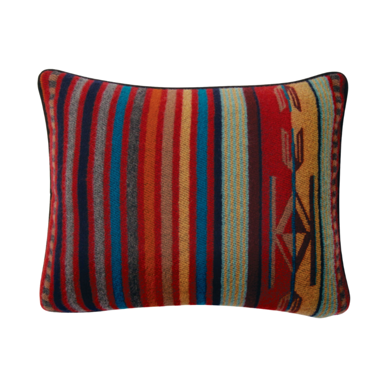 Pendleton Pendleton | Chimayo Pillow 12x15 | Chimayo Garnet