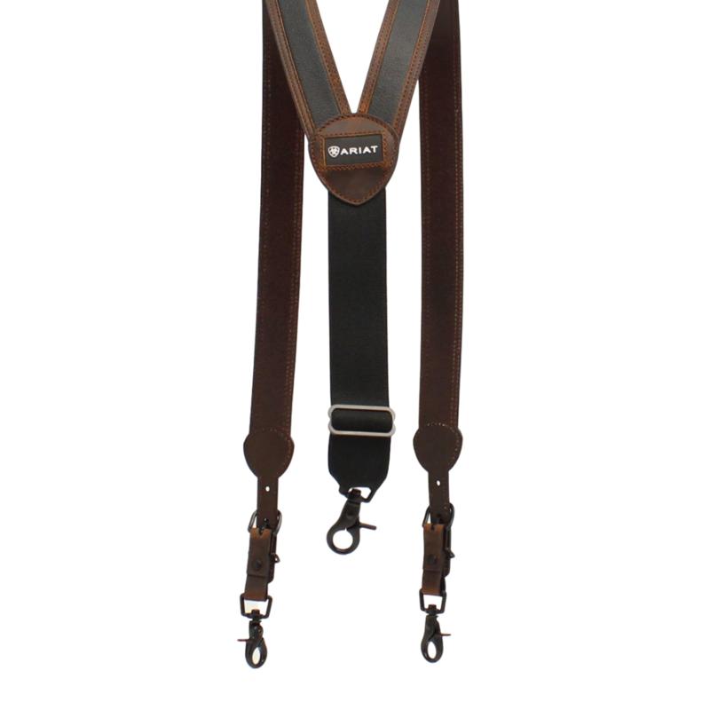 Ariat | Black/Brown Suspenders