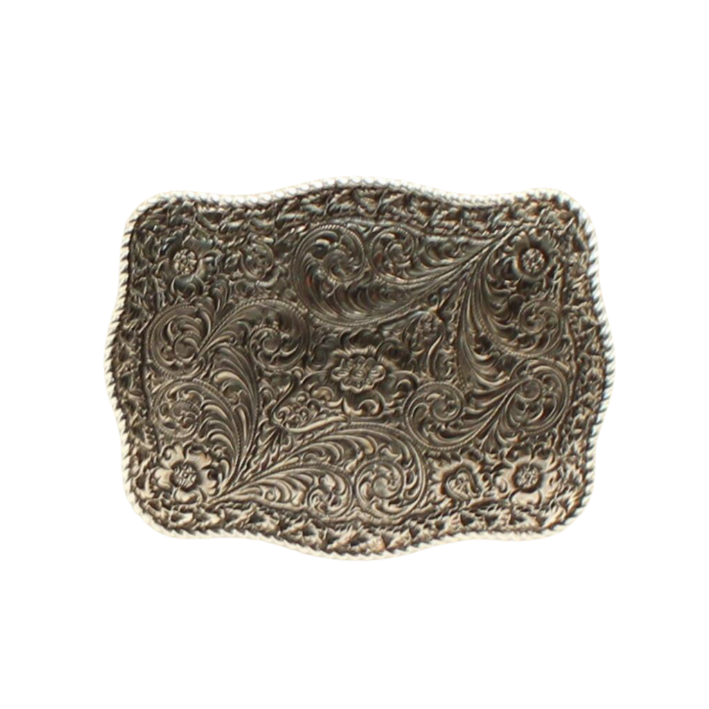 M&F Western | Rectangle Floral Belt Buckle