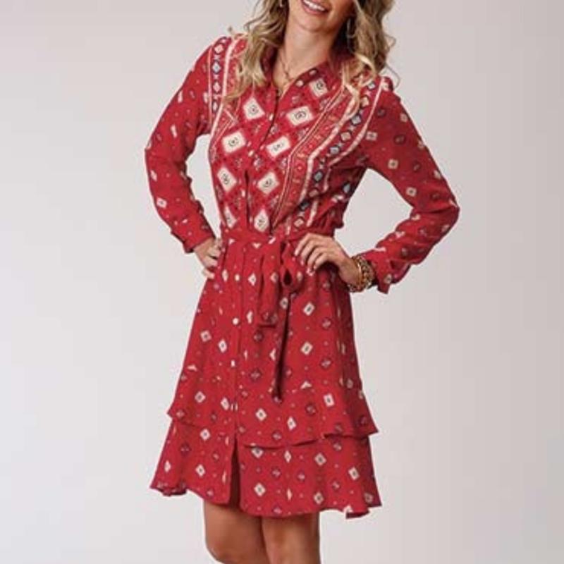 Roper | Aztec Shirt Dress