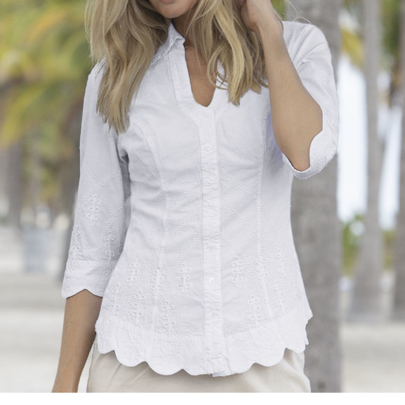 Gretty Zueger Gretty Zueger | Catherine Blouse