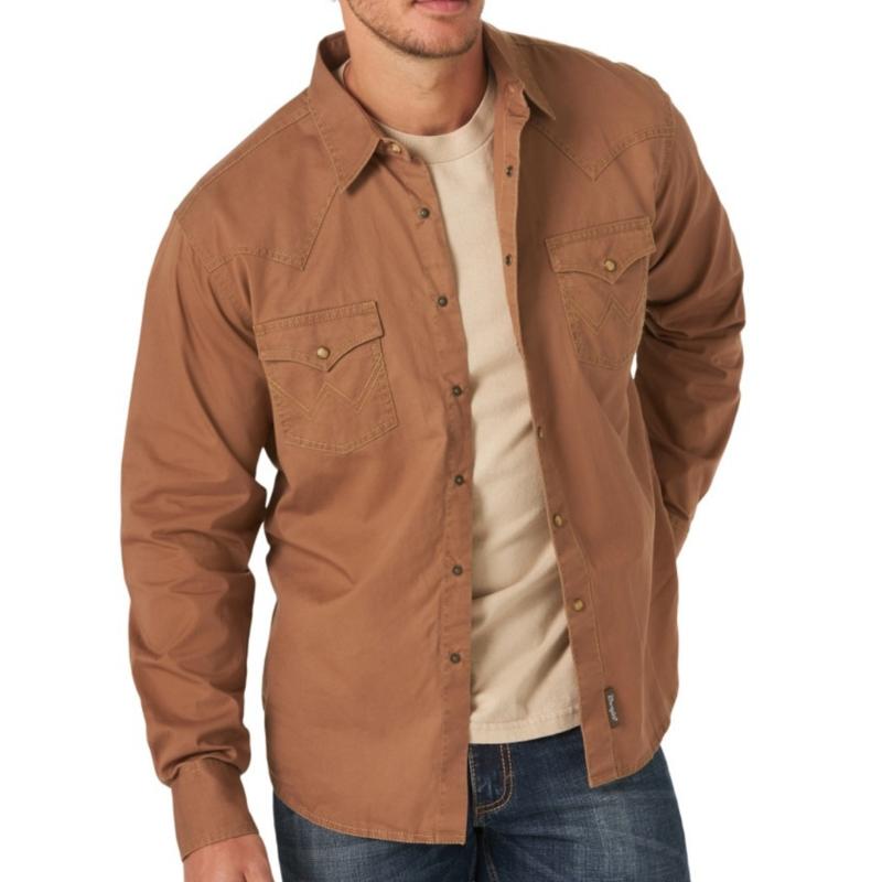 Wrangler | Retro Premium LS Shirt