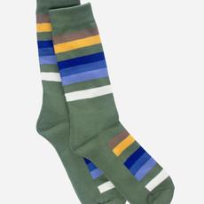 Pendleton Pendleton | National Park Stripe Crew Sock in Rocky Mountain