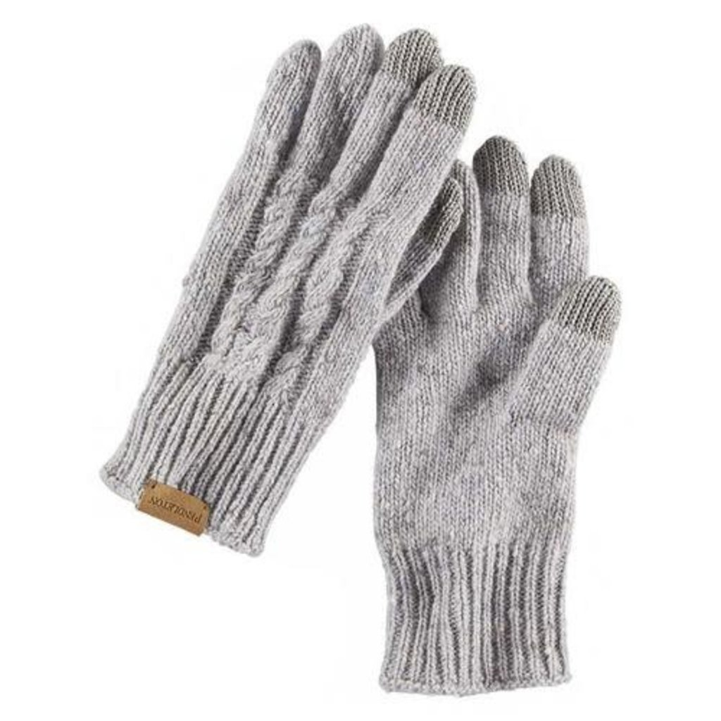 Pendleton Pendleton | Cable Texting Glove | Grey