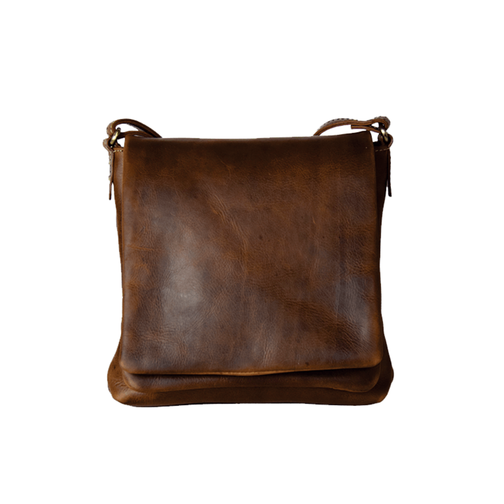 Rugged Earth | Small Compact Leather Purse | Brown