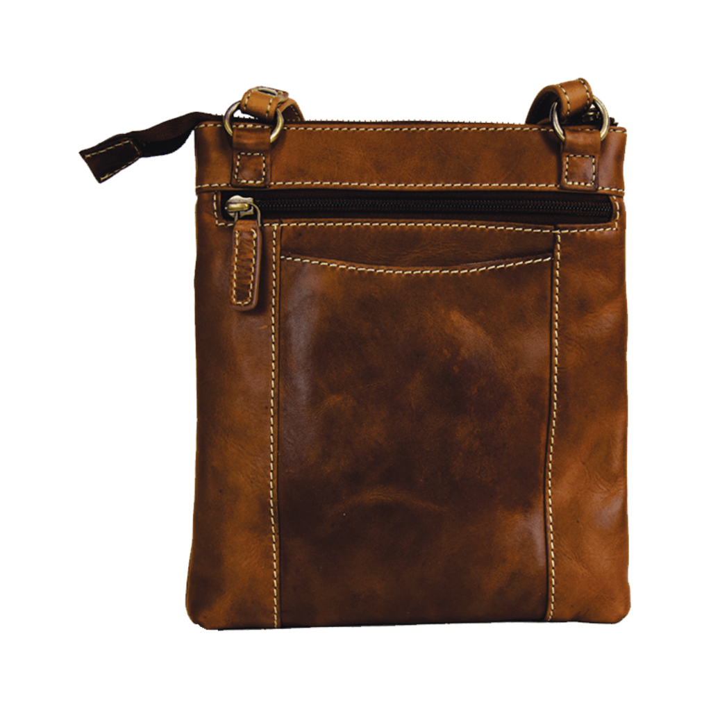 Rugged Earth   Brown Leather Purse