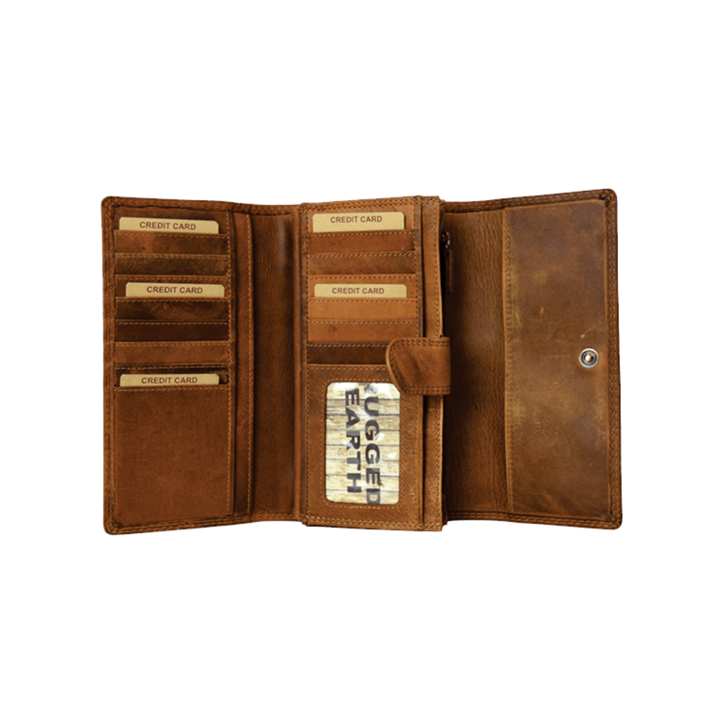 Rugged Earth | Leather Wallet