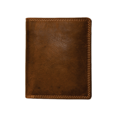 Rugged Earth | Leather Wallet | Brown