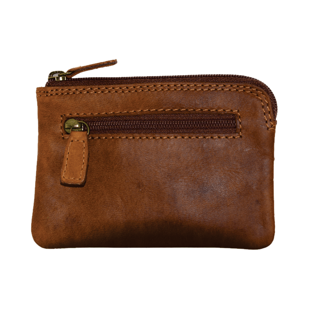 Rugged Earth | Leather Change/Coin Wallet | Brown