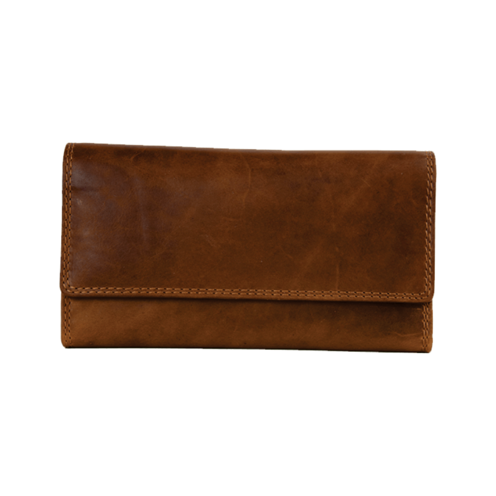 Rugged Earth | Ladies Leather Wallet | Brown