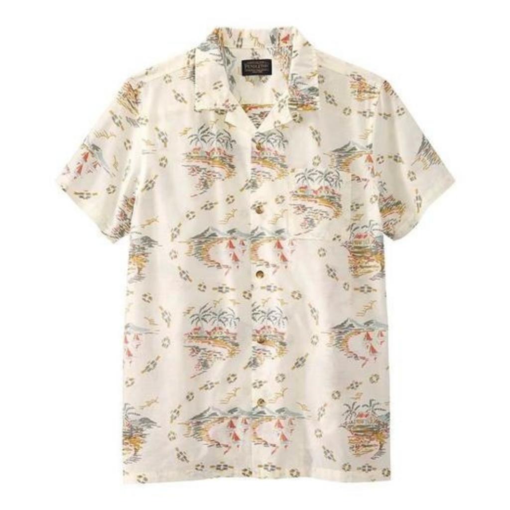 Pendleton Pendleton   Aloha Shirt in Vintage Island Multi