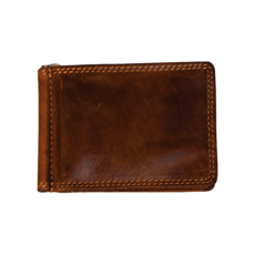 Rugged Earth | Leather Money Clip Wallet