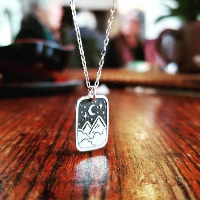 The Bearded Jeweler A Night in the Stars Necklace
