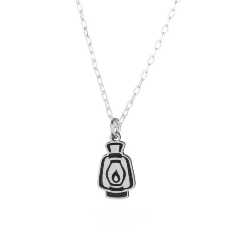 The Bearded Jeweler Lantern Tiny Necklace