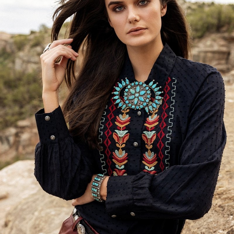 Double D Ranch   Saddle Mountain Tunic