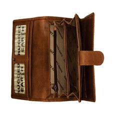 Rugged Earth | Leather Women's Western Wallet | Brown