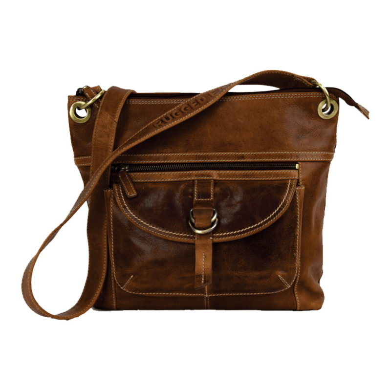 Rugged Earth   Leather Purse   Brown