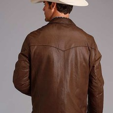Stetson   Burnished Lamb Leather Jacket
