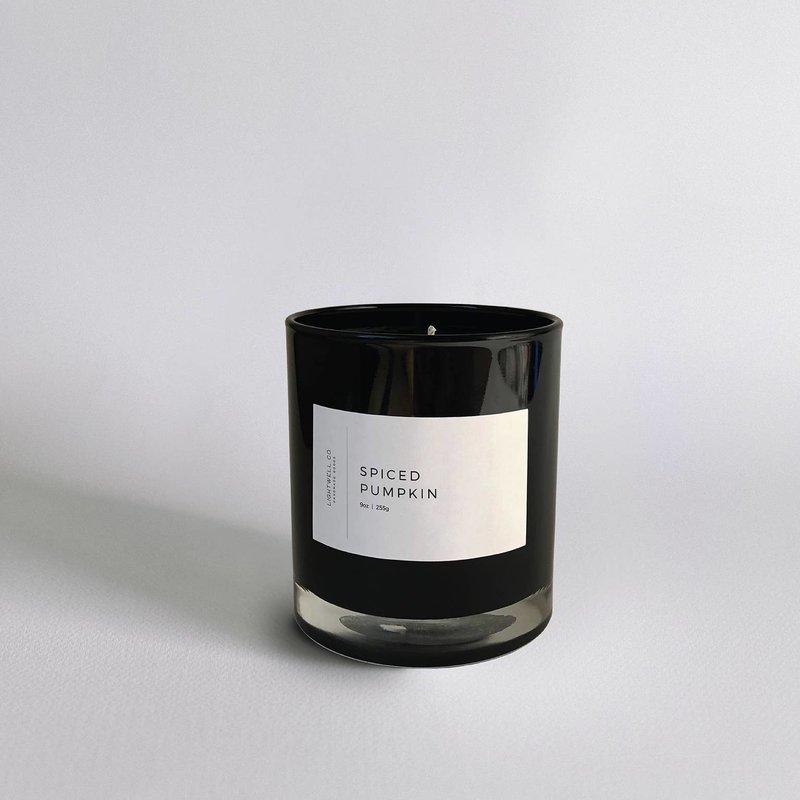 Lightwell Co. Lightwell Co. | Black Tumbler Candle | Spiced Pumpkin
