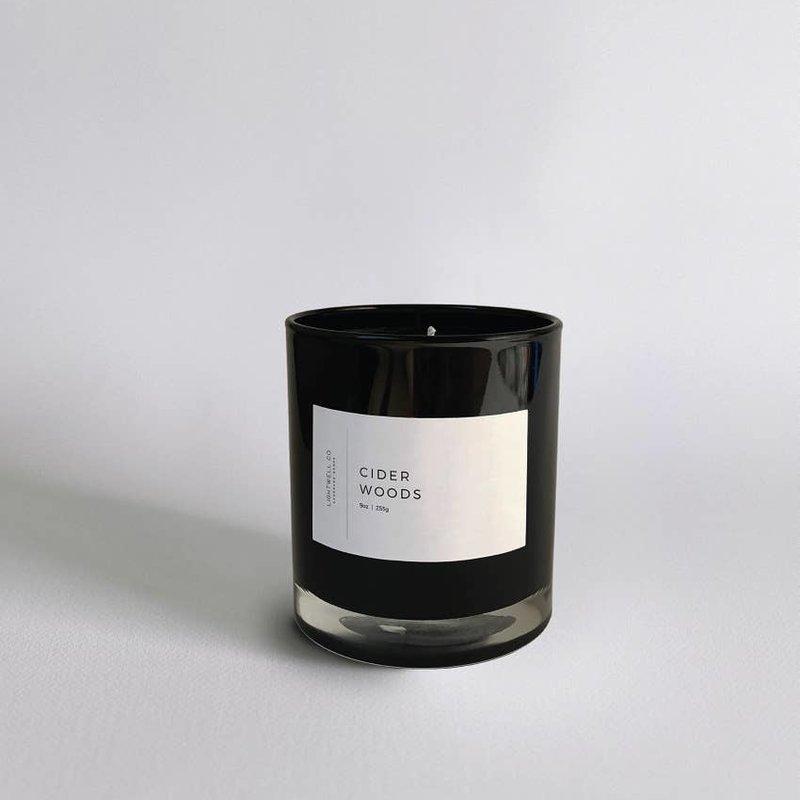 Lightwell Co. Lightwell Co. | Black Tumbler Candle | Cider Woods