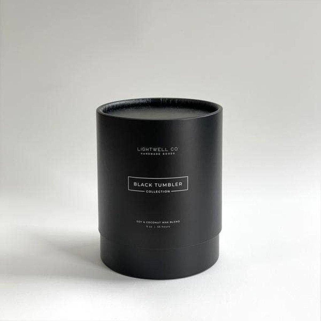 Lightwell Co. Lightwell Co.   Black Tumbler Candle   Cider Woods