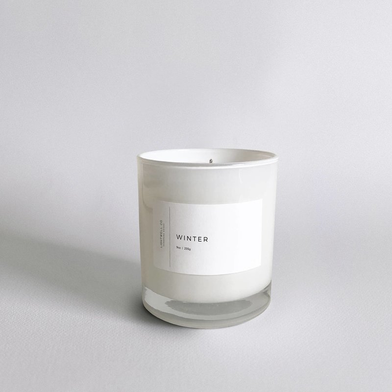 Lightwell Co. Lightwell Co. | White Tumbler Candle | Winter