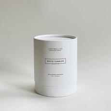 Lightwell Co. Lightwell Co.   White Tumbler Candle   Winter
