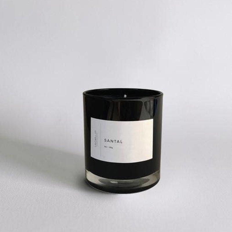 Lightwell Co. Lightwell Co. | Black Tumbler Candle | Santal