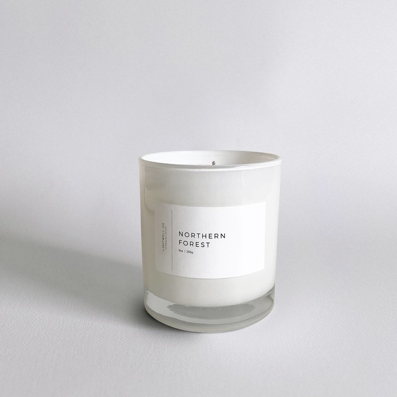 Lightwell Co. Lightwell Co. | White Tumbler Candle | Northern Forest