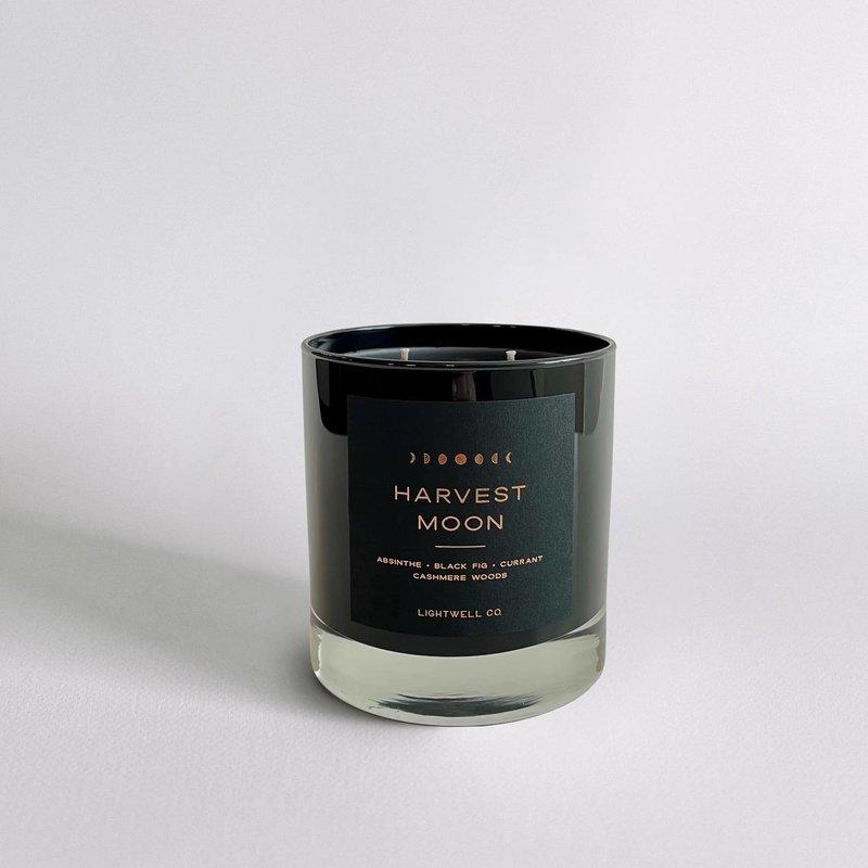 Lightwell Co. Lightwell Co. | Black Tumbler Candle | Harvest Moon