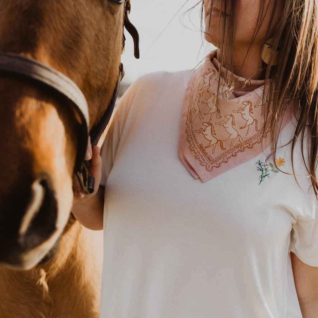 Hemlock Goods Horses Bandana