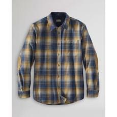 Pendleton Trail Shirt   Blue + Tan Plaid
