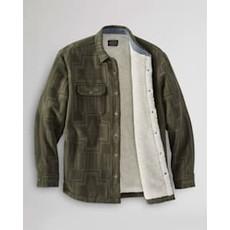 Pendleton Pendleton | Sherpa Lined Shirt Jacket | Harding | Army Green