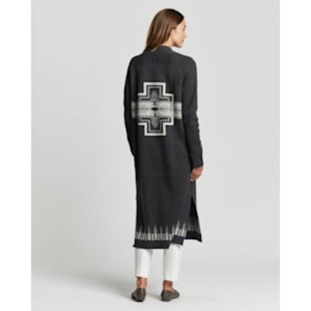 Pendleton Pendleton | Long Duster Sweater | Charcoal Multi