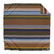 Pendleton Pendleton | Napped Dobby Twin Blanket | Bridger Stripe