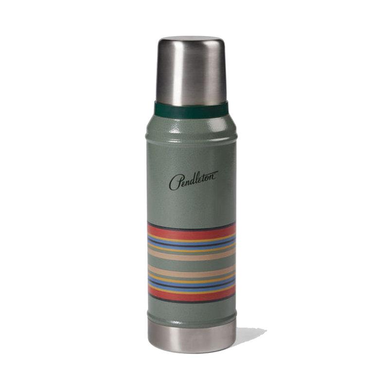 Pendleton Stainless Steel Bottle Thermos | Hammertone Green