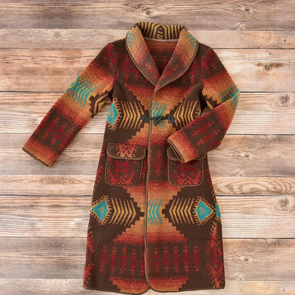 Tasha Polizzi   Borderline Coat   Ruby