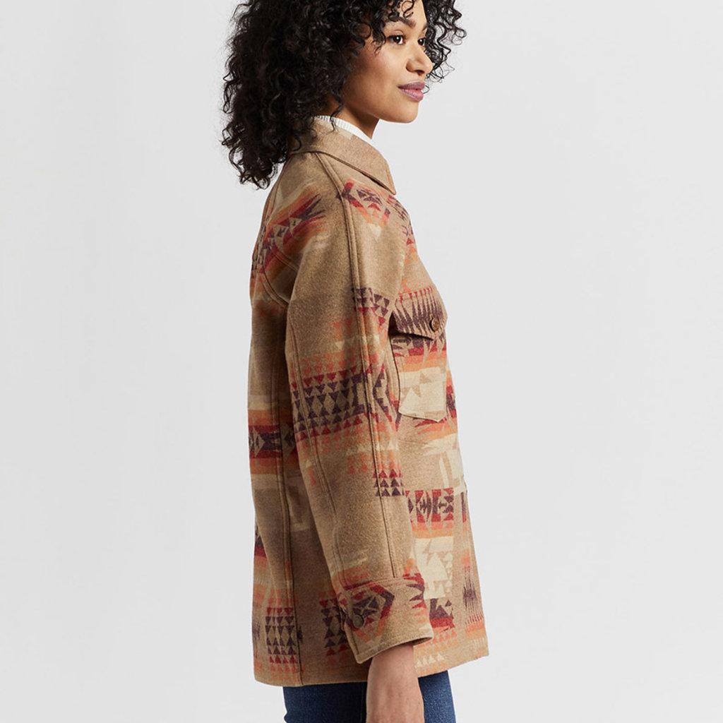 Pendleton Pendleton | Wool Work Jacket | Tan Chief Joseph Jacquard