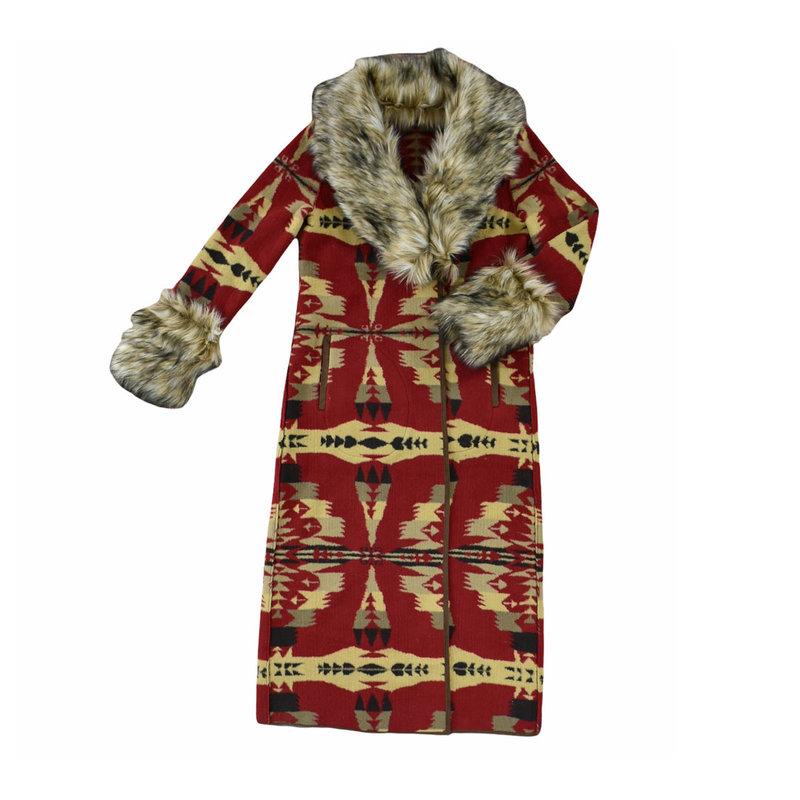 Frontier Blanket Coat | Cardinal