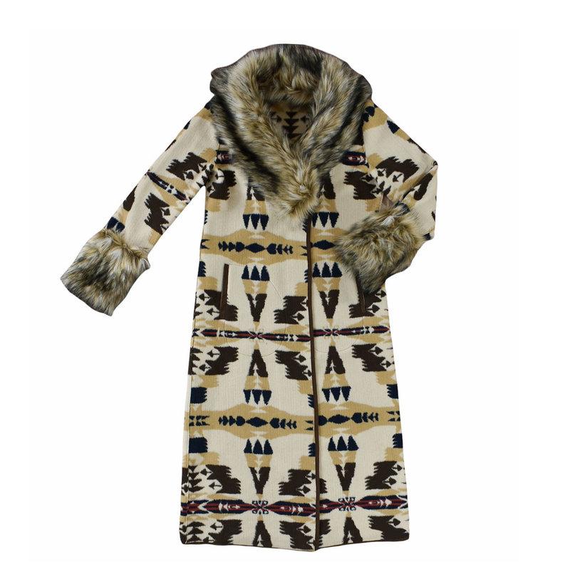 Frontier Blanket Coat | Cashmere