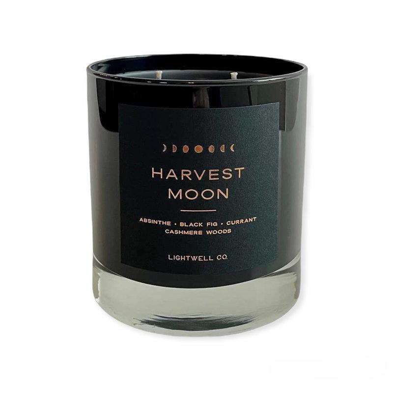 Lightwell Co. Black Tumbler Candle | Harvest Moon