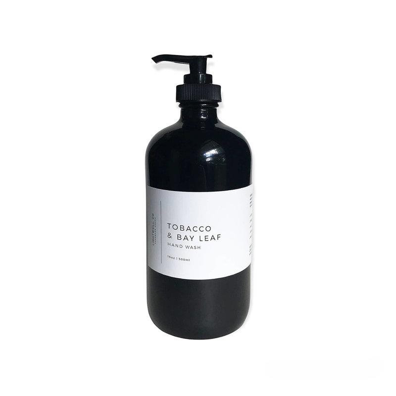 Lightwell Co. Hand Wash | Tobacco & Bay Leaf