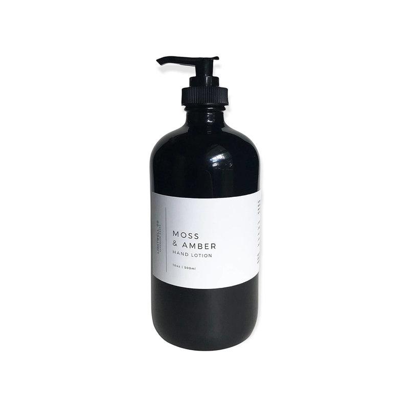 Lightwell Co. Hand Lotion| Moss & Amber