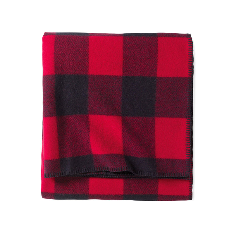 Pendleton Queen Blanket   Eco-Wise   Rob Roy Red