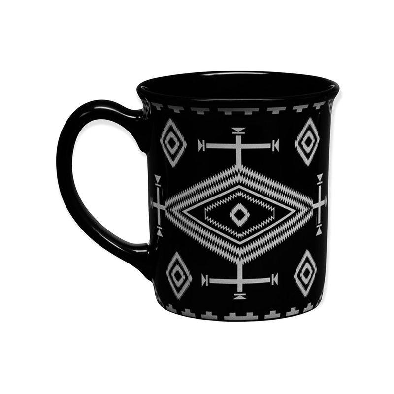 Pendleton 18 oz Ceramic Mug   Los Ojos Black
