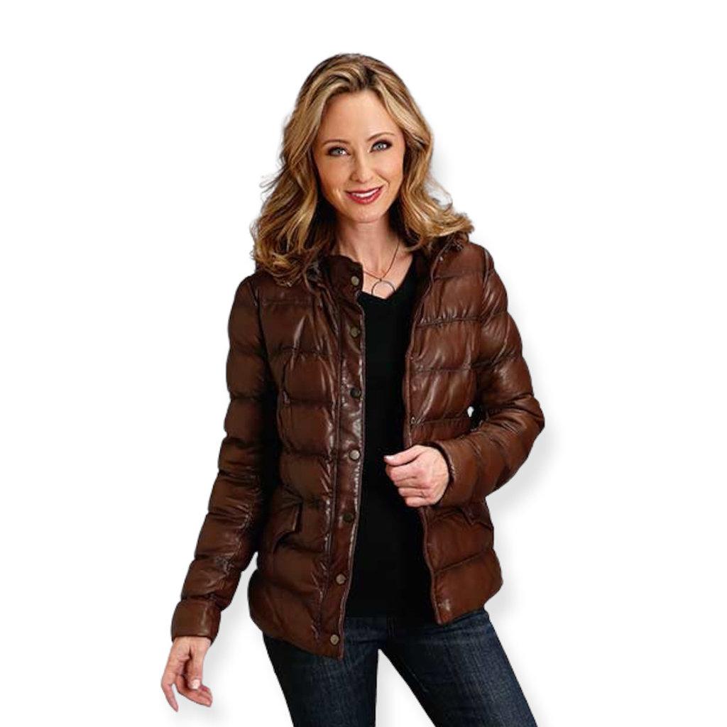 Stetson | Leather Puffer Jacket