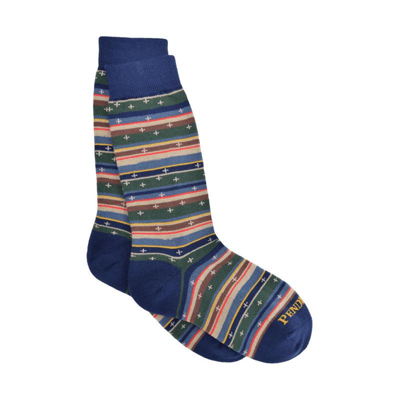 Pendleton Crew Socks   Bridger Scout Stripe